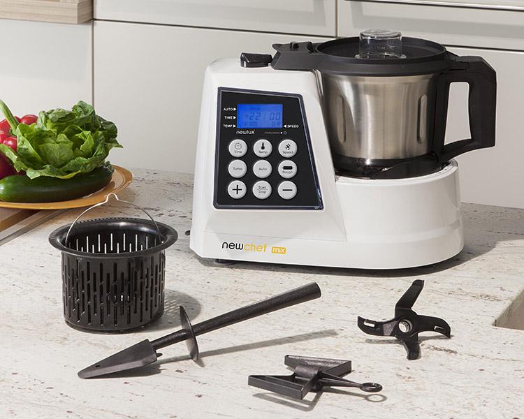 Menamer cat logo robot cocina multifunci n newchef mix 10 - Robot de cocina newchef ...